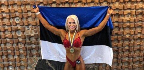 Eesti kulturistid ja fitness-sportlased avasid aasta medalisajuga