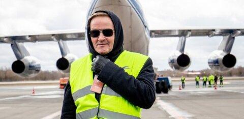 Полученные из Китая защитные средства в пятницу начнут распределять по Эстонии