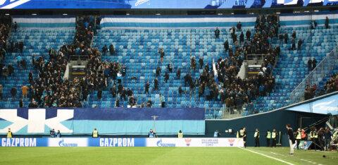 Venemaa jalgpalliliigas tehakse tribüünid lahti, aga vaid 10 protsendi ulatuses
