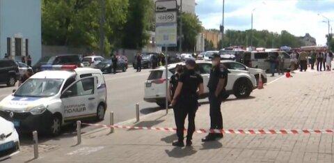 В Киеве задержали преступника, который пригрозил взорвать бомбу в банке