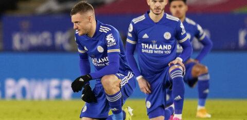 Inglismaal tiitli eest võitlev Leicester City jäi ründetähest ilma
