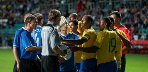 Eesti jalgpalliliit hakkab näitama koondise legendaarseid kohtumisi