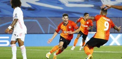 BLOGI | Meistrite liiga: Šahtar šokeeris Madridi Reali, Bayern purustas Atletico, Liverpool alistas Ajaxi