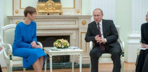 Взвывший Сависаар и килька-побудительница. Российские СМИ: эхо встречи Кальюлайд и Путина