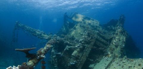Египетские власти расследуют кражу затонувших кораблей в Красном море