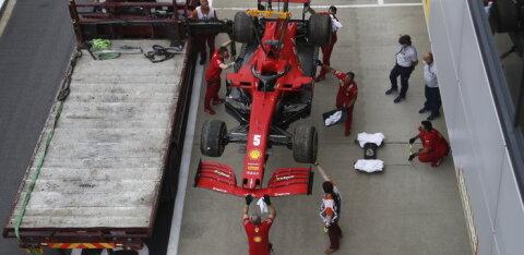 Mercedes tegi vabatreeningutel tempot, Vettel jäi jalameheks