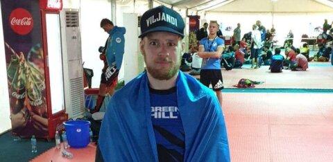 Kahe Eesti võitleja MMA maailmameistrivõistlused lõppesid veerandfinaalis