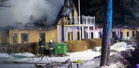 После пожара в пансионате Мяннику Спасательный департамент проверит пожаробезопасность других попечительных учреждений