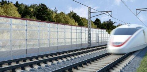 В ходе строительства Rail Baltic планируется потратить 5,5 млн евро на аренду временных работников