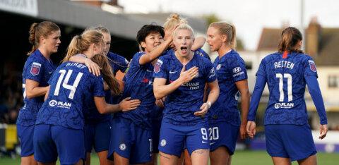 Kurioosum: teist kohta hoidnud Chelsea naised pälvisid meistritiitli
