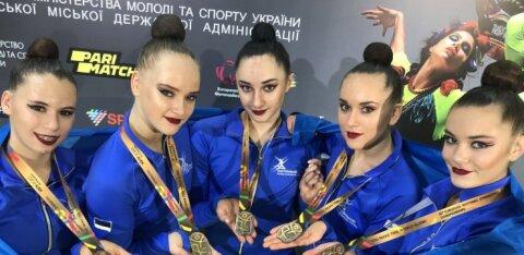 ВИДЕО: Эстонские гимнастки завоевали бронзовые медали чемпионата Европы!