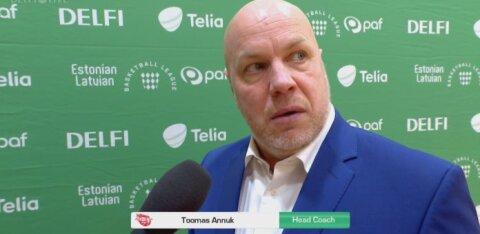 DELFI VIDEO   Rapla peatreener: kaitses mängisid mehed nii, nagu kokku sai lepitud
