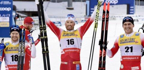 Peremehed on tagasi: norralased võtsid Lahti MK-etapil nelikvõidu, Tour de Skid valitsenud venelased jäid pika ninaga