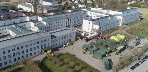 В больнице Курессааре выявлен еще 21 человек с коронавирусом