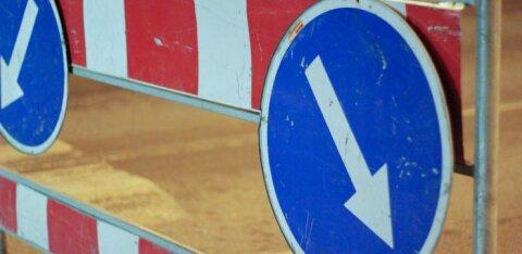 В Кристийне начинается восстановительный ремонт улицы Нымме теэ