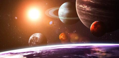 Maale lähim planeet on Merkuur