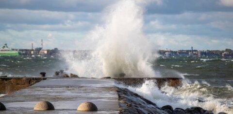 Ilmateenistus andis esimese taseme tormihoiatuse: tuulepuhangud võivad ulatuda kuni 25 meetrini sekundis