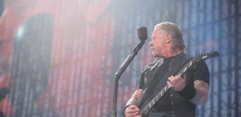 """ВИДЕО: Metallica спела """"Группу крови"""" Цоя на концерте в Москве"""