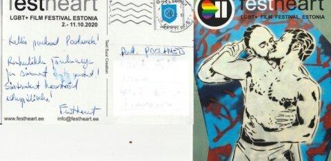 Jõulukaardist sai tüliõun. LGBT+ filmifestivali korraldaja saatis konservatiivide perele ärritava kaardi