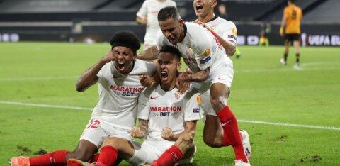 Euroopa liiga viimased poolfinalistid on Šahtar ja Sevilla