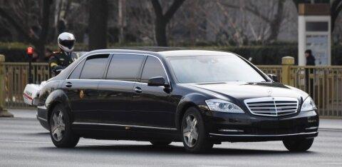 Saksa autotootjal Daimleril pole aimugi, kust Kim Jong-un oma limusiinid sai