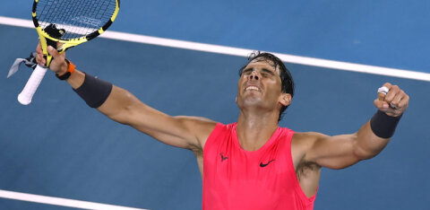 Rafael Nadal pääses Australian Openil 12. korda veerandfinaali