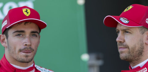 Vetteliga kokku põrganud Leclerc võttis süü omaks: olen endas pettunud