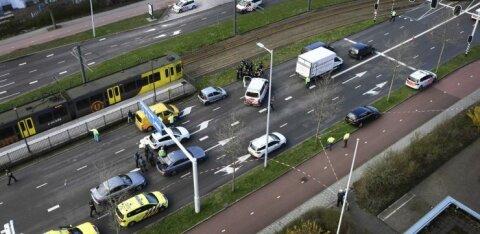В Утрехте неизвестный устроил стрельбу в трамвае: три человека погибли, несколько ранены