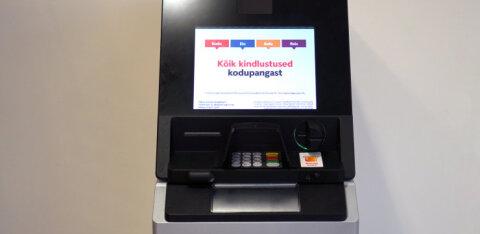 FOTO | Puutetundlikud ja uue turvafunktsiooniga: just sellised näevad välja Swedbanki uued sularahaautomaadid