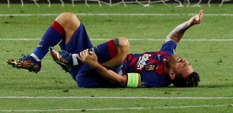 Barcelona peatreener Meistrite liiga veerandfinaali eel: Messi vigastus vajab ravimist