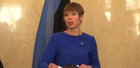 VIDEO | President Kersti Kaljulaid leiab jätkuvalt, et Eestis on väärtuste kriis