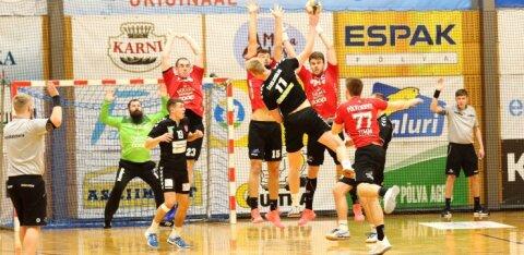 Serviti sai tugeva teise poolaja toel võidu, teised Eesti klubid kaotasid