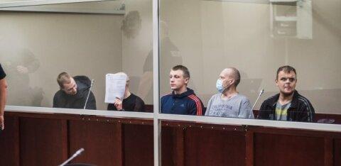 ФОТО | Отправлена за решетку действовавшая в Эстонии банда литовских угонщиков
