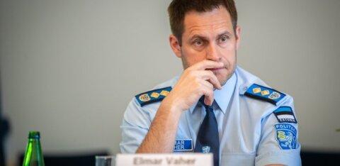 Плагиат? Гендиректор полиции Эльмар Вахер просит университет проверить свою магистерскую работу