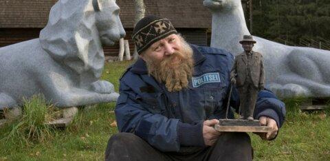 Seaküla Simson teeb Eesti sünnipäevaks Toila-Orule Konstantin Pätsi monumendi