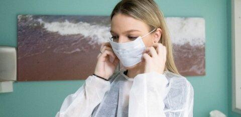 Северо-Эстонскую больницу обманули: вместо трети масок пришла всякая ерунда