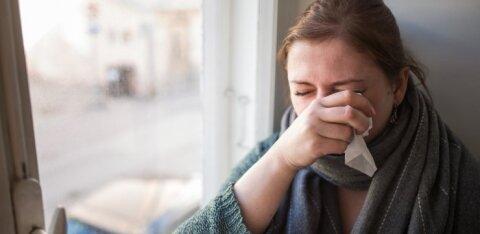 В Ида-Вирумаа зафиксирован случай заболевания гриппом