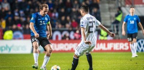 Eesti jalgpallikoondis võõrustab oktoobris Leedut