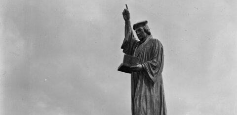 В волости Харку планируют восстановить легендарный памятник Мартину Лютеру