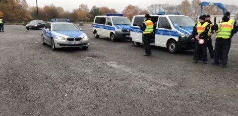 Немецкая полиция задержала на границе с Польшей эстонца. Оказалось, что он разыскивается за убийство