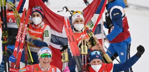 Очередная победа Норвегии, серебро россиянок и провал Швеции