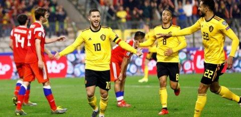 ВИДЕО: Россия проиграла Бельгии, Казахстан разгромил Шотландию