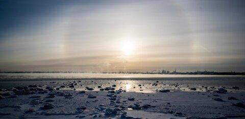 На Эстонию надвигаются суровые морозы и сильный ветер