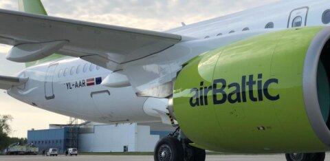 AirBaltic tõsisesse lennuintsidenti sattunud lennukitüüpi maa peale ei jäta