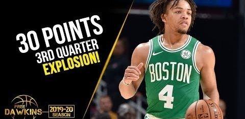 VIDEO | Celticsi uustulnuk pani eelhooaja mängus püsti ulmelise viskekontserdi: ühe veerandajaga 26 punkti!