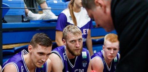 TIPPHETKED | Kalev/TLÜ sai VEFilt valusa kaotuse, Kalev/Cramo jäi üllatuslikult Jurmalale alla
