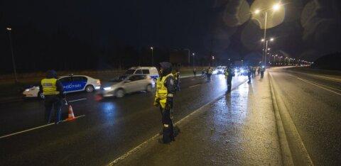 Полиция задержала в Йыгевамаа пьяного водителя без прав