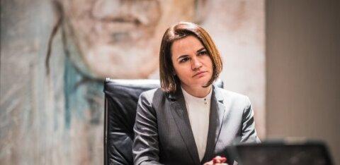 Тихановская рассказала, как эстонцы могут помочь Беларуси