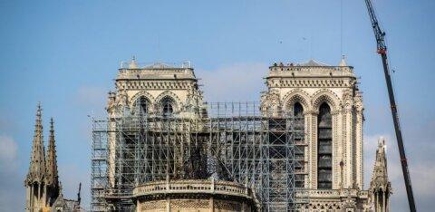 Notre-Dame'i katusel tellinguid paigaldanud ettevõtte töötajad eirasid suitsetamiskeeldu
