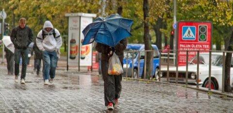 Ilmateenistus hoiatab Edouardi eest: homme pärastlõunal on Põhja- ja Lääne-Eestis intensiivsed vihmahood
